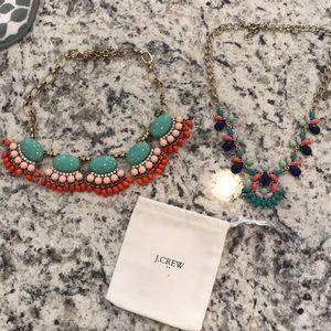 JCREW statement necklaces